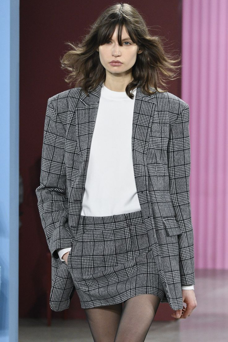 Tibi's youthful take on the plaid fabric.   Check Mate: Plaid Is Fall 2017's Must-Have Print Photos | W Magazine