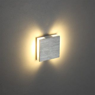 Halo Square 3 Watt Recessed LED Wall Light