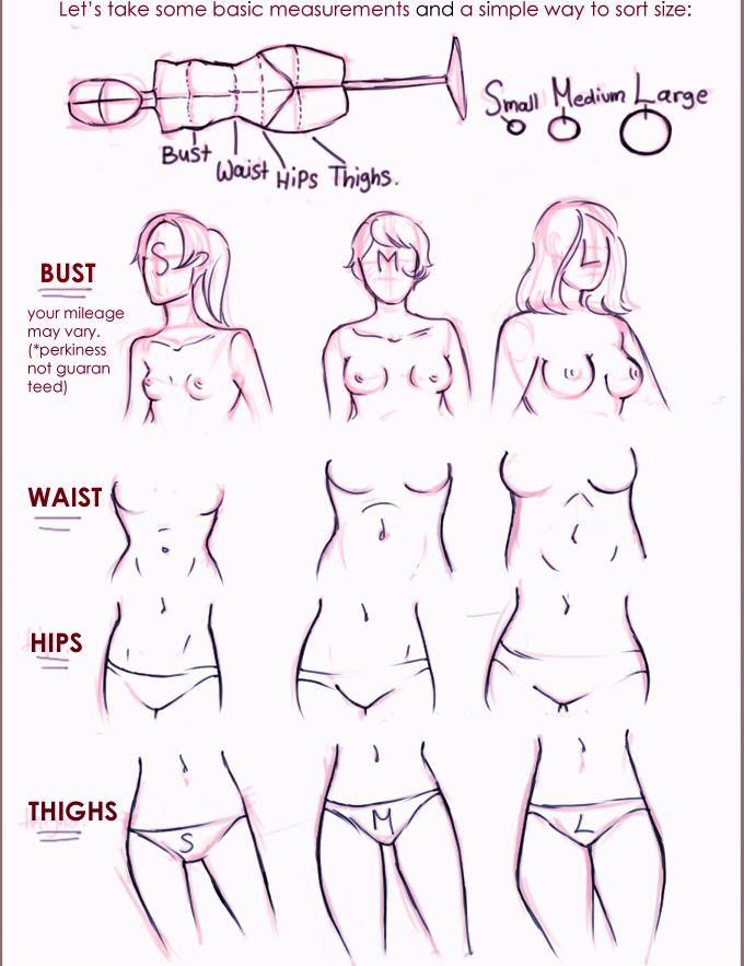 Ladies ✤ || CHARACTER DESIGN REFERENCES | 解剖 •  علم التشريح • анатомия • 解剖学 •…