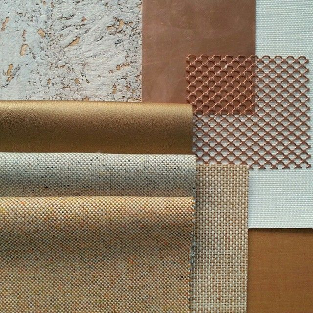A rustic palette of burnt orange and copper | Interior Design | Finishes | Moodboard | Colour Scheme