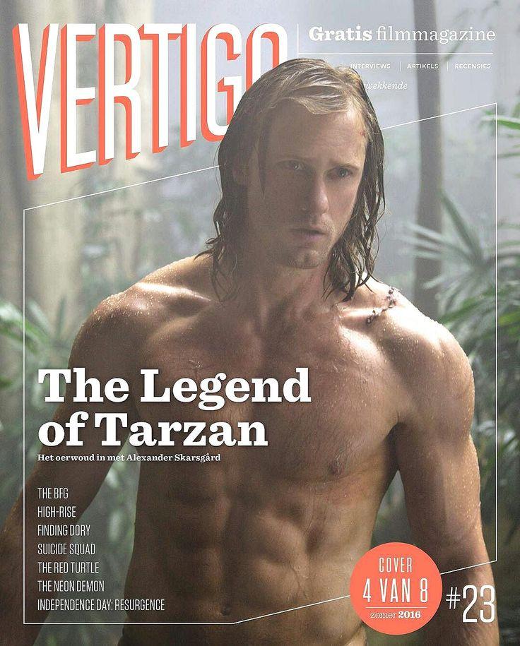 Alexander Skarsgard on cover of Vertigo Legend of Tarzan