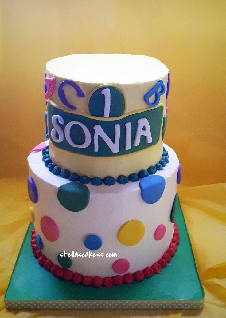 Happy Birthday Theme Cake