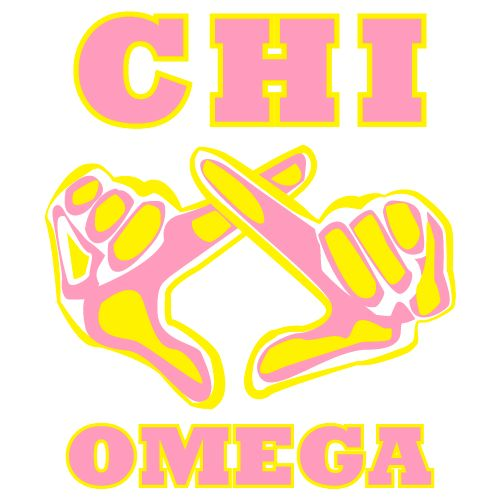 Chi Omega, Sorority Symbol, T-Shirt *All designs can be customized for your organization or chapter's needs!