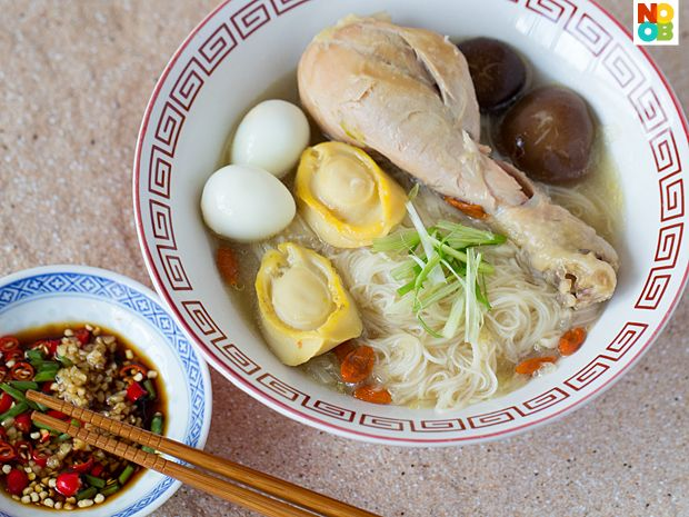Birthday Mee Sua (Longevity Noodles) Recipe: Food Recipes, Asian Recipes, Recipe Asian Food, Noodles Aka, Noodles Recipe, Abalone Recipe, Longevity Noodles, Life Noodles, Chinese Food