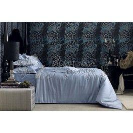 Lenjerie de pat de lux din bumbac egiptean Valeron Crocodile negru