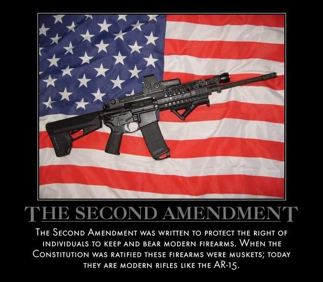 "the move to repeal the second amendment of the us constitution To the editor:we the people made our constitution and have the right to amend it the second amendment, ratified in 1791, says: ""a well regulated militia being necessary to a free state, the right of the people to keep and bear arms shall not be infringed""article v of the constitution says in part: ""the."
