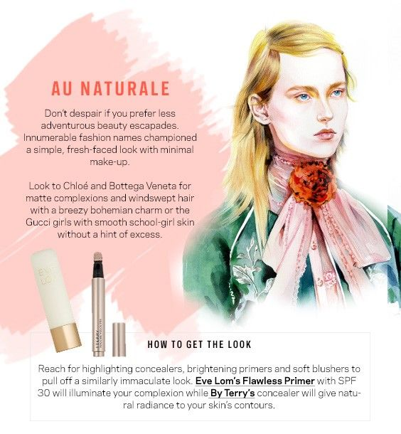How to create the Au Naturale make up look.