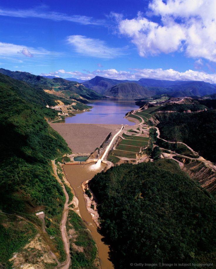 Venezuela,Andes,Uribante Caparo hydro-electric dam project