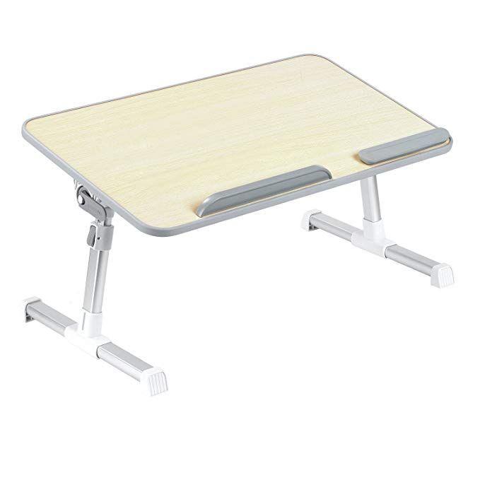 Laptop Bed Tray Minitable Quality Adjustable Portable Standing Desk Foldable Sofa Breakfast Table Notebook Sta Bed Tray Table Bed Tray Portable Standing Desk