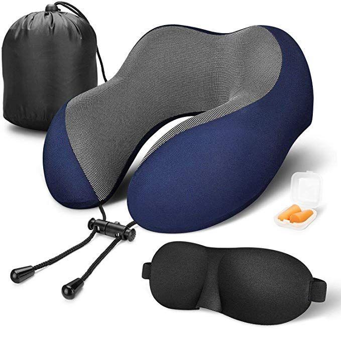 MLVOC Travel Pillow 100% Pure