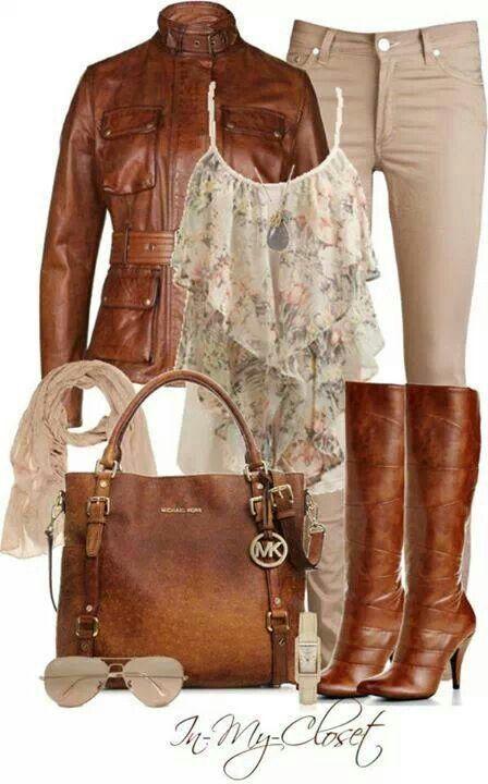 boots, jacket, bag......when my kids get older