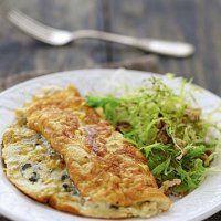 Omelette soufflée au roquefort - Cuisine et Vins de France