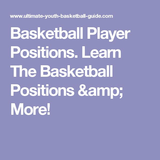 Basketball Player Positions. Learn The Basketball Positions & More!