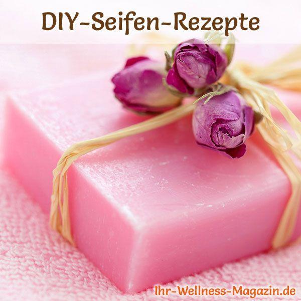 Seife mit Rosenduft selbst machen – Seifen-Rezept & Anleitung