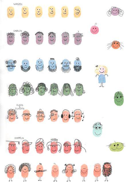 Goedkope knutsel tips van Speelgoedbank Amsterdam voor ouders en kinderen. Goedkoop knutselen, maak een familie met vingerverf
