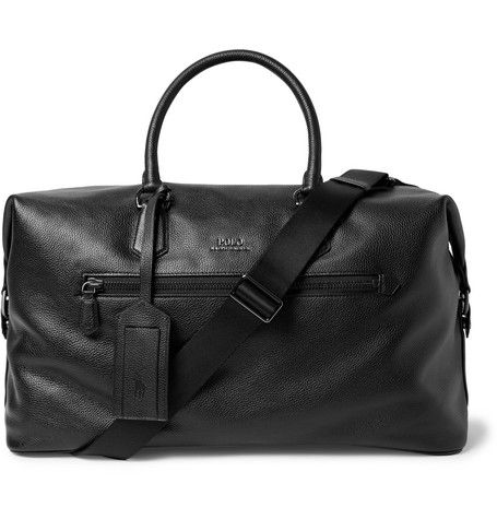 Whether you're hitting the road for a weekend away or catching the next flight out of town, <a href='http://www.mrporter.com/mens/Designers/Polo_Ralph_Lauren'>Polo Ralph Lauren</a>'s sleek holdall is sized to hold essentials and then some. It's made from durable pebble-grain leather and is fully collapsible so it won't take up closet space at home.