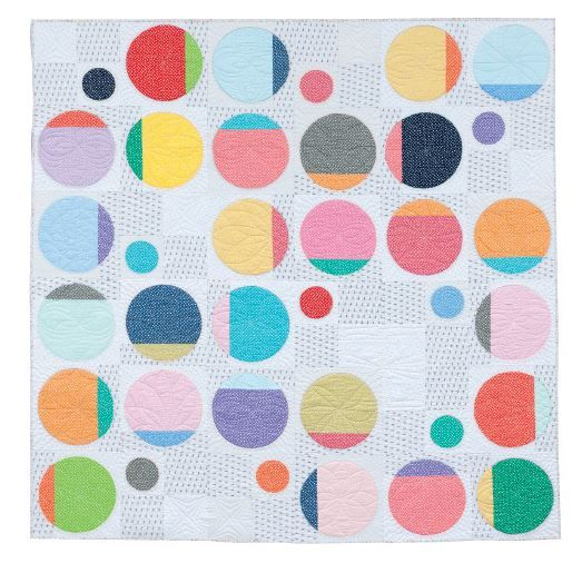 Quilt by Natalie Barnes from A Modern Twist // Found on Latifah Saafir's blog