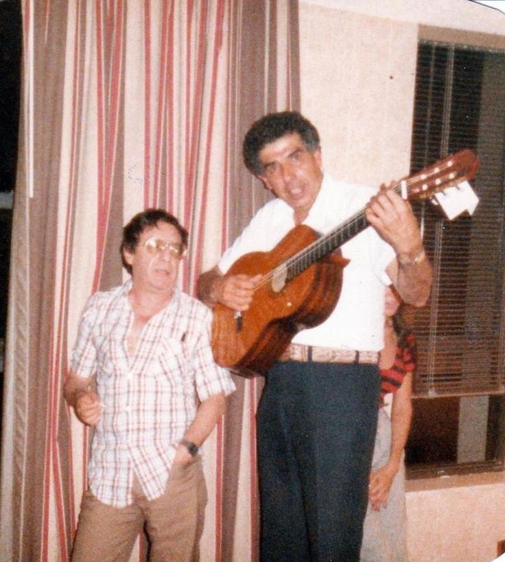 Chespirito y Rubén Aguirre.