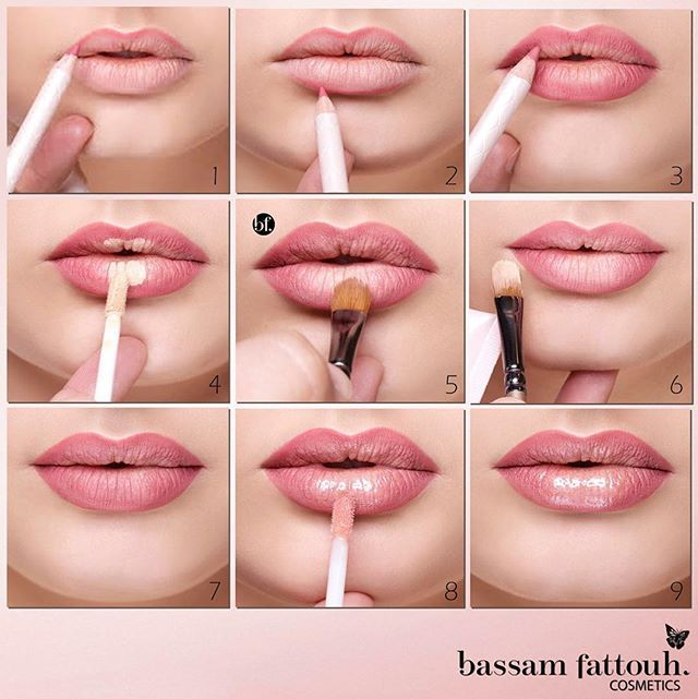 Step-by-step tutorial to an Ombré Voluminous Lips Bassam Fattouh ... 6b4e620ae8e65