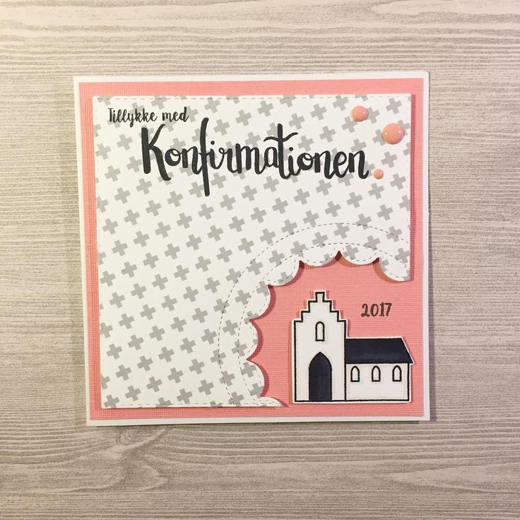 Getting ready for confirmation cards 2017 using the new stamp I bought from @krumspringstamps 💕 Love the size of the stamp, and the church is perfect 💗 #mitkammer #cardmaking #krumspringstamps #konfirmand #konfirmation2017 #telegram #confirmation #peach #peachy #church #crazygirlpaper #enameldots #cardmagic #onmytable #stamping #clearstamps #copiccoloring #paperlove #papercraft #handmade #kartendesign #cardmakinghobby #craftygirl #handmadewithlove #happytime