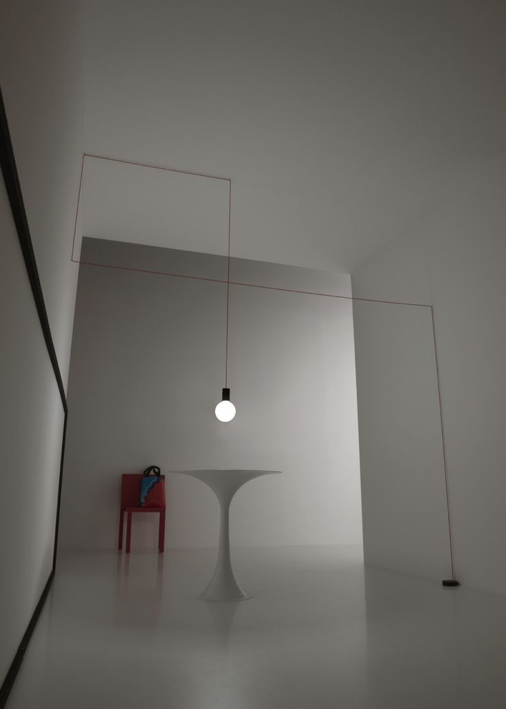 spazio - suspension led lamp with opal bulb #led #light #bulb
