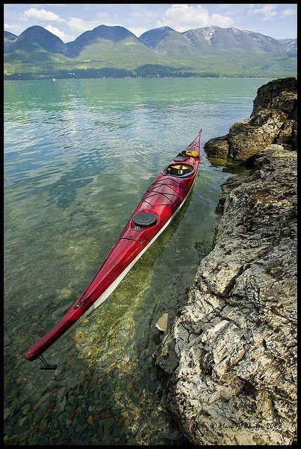 Flathead shoreline by Mark Payton, via Flickr