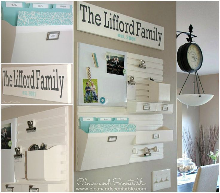 349 Best Organizing The Command Center Images On Pinterest Crafts Office Suite And