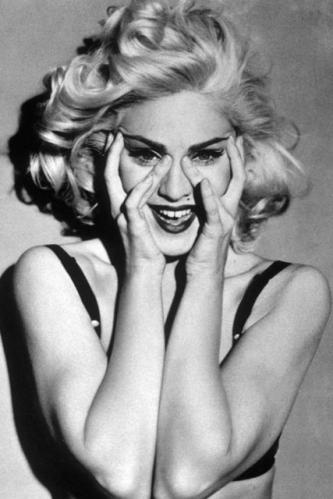 Madonna - the first blonde to inspire me. My aunt once told me she worried about the number of Madonna posters on my wall when I was 9