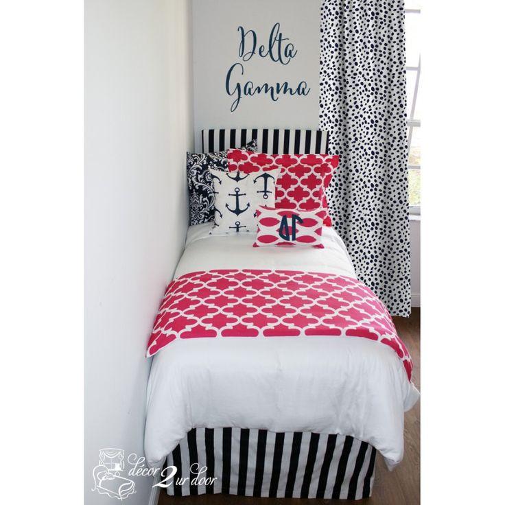 Lovely Best 100+ Sorority House Bedding and Decor images on Pinterest  RM73