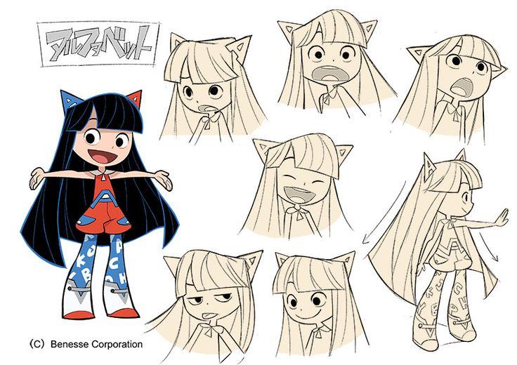 Character design by Gurihiru for English teaching materials.