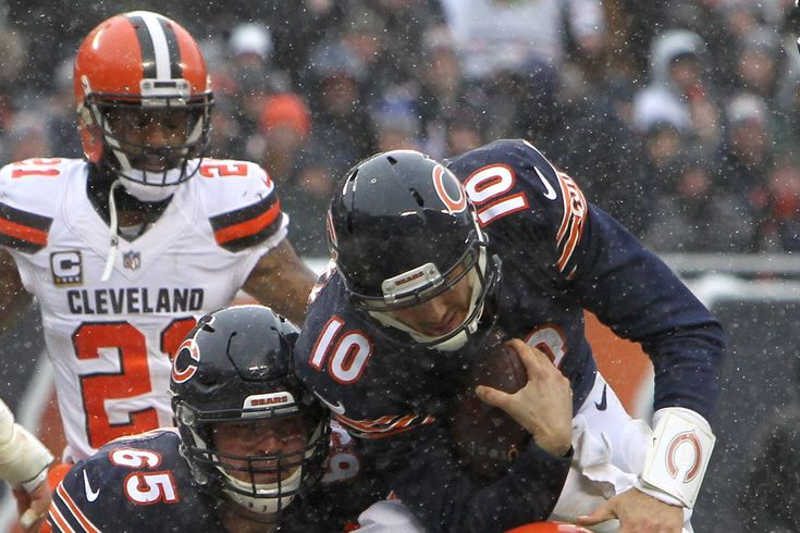At a snowy Soldier Field, Trubisky ushered out one of the last remnants of the John Fox tenure and hopefully began his own reborn era.