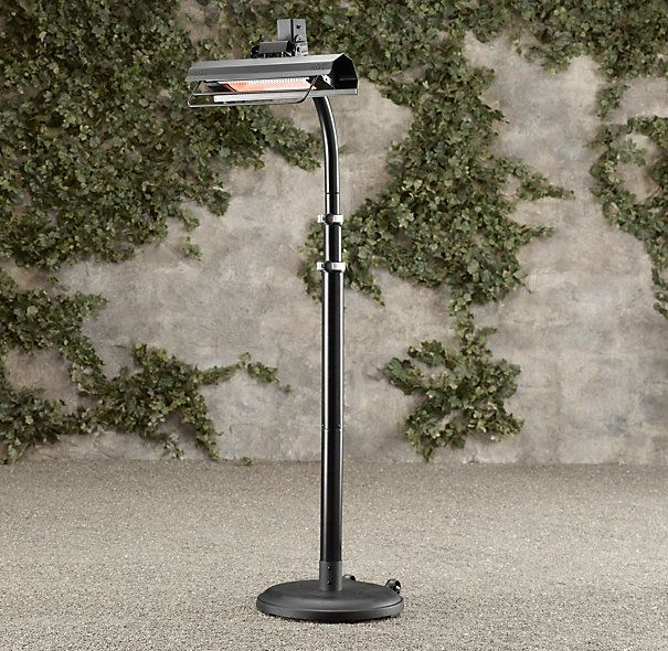 Infrared Floor Telescoping Patio Heater. RH. have a couple of these in the  outdoor - 17 Best Images About Outdoor Heaters On Pinterest Stainless