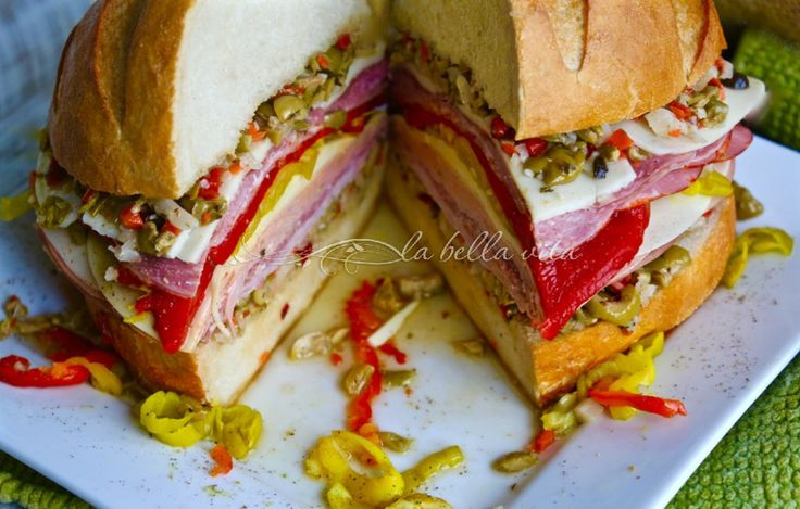 Classic New Orleans Muffuletta | MARDI GRAS | Pinterest | New Orleans
