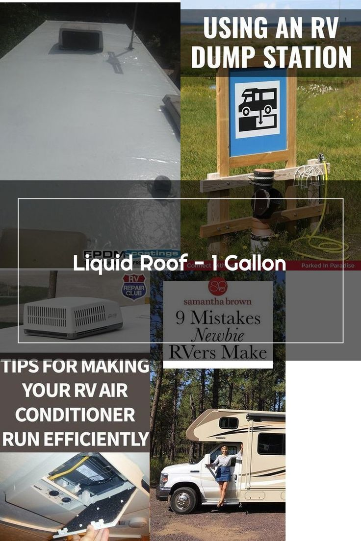 Liquid Roof, Solution For RV Roof Leaks Repair in 2020