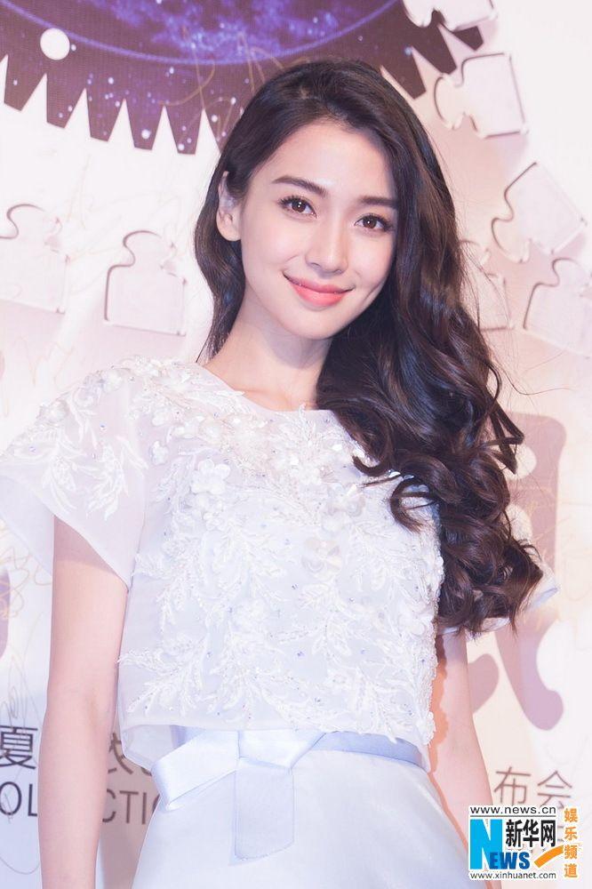 Hong Kong actress Angelababy http://www.chinaentertainmentnews.com/2015/09/angelababy-at-fashion-event_22.html