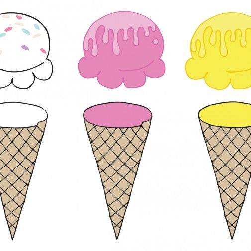 ice cream color matching free printable by pipasik.cz