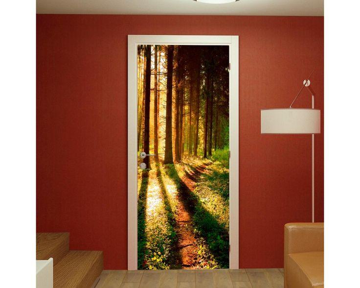 Forest light, αυτοκόλλητο πόρτας , δείτε το!