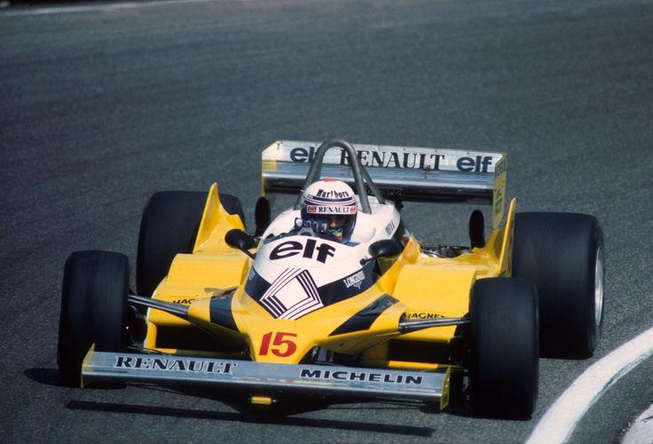 Alain Prost (Renault) vainqueur du Grand prix de Hollande - Zandvoort 1981…