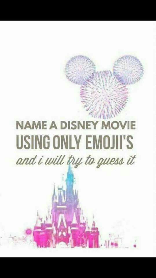 Come on, give it a try. #Disney