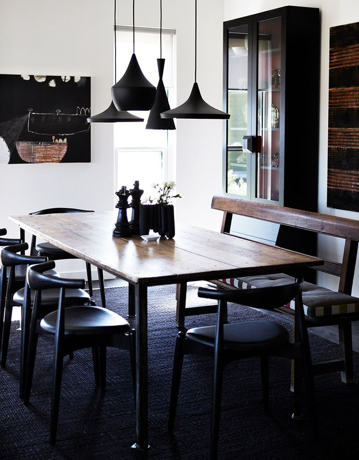 The CH20 Elbow Chair by Carl Hansen and Son as featured at Northern Tablelands by Hare + Klein is one of the Authentic Dining Chairs that we are Loving Right Now - Hare & Klein Interior Design Blog