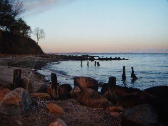 la baie d'Aarhus, Danemark