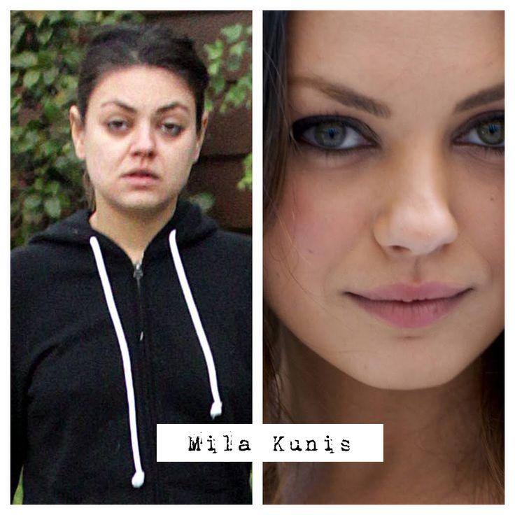 Mila kunis without makeup