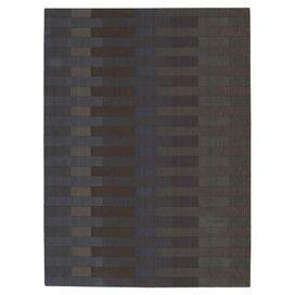 Linear Blocks Rug in Slate