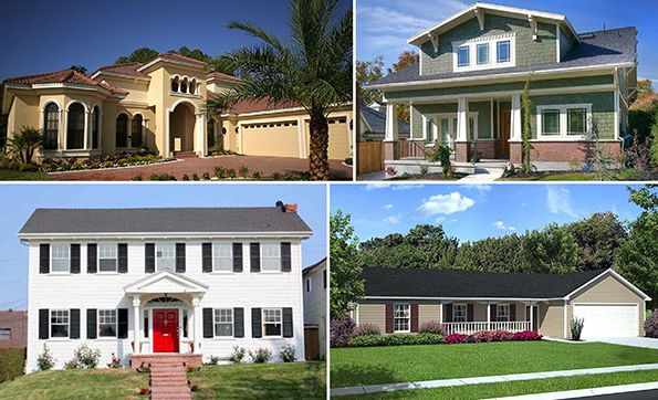Residential architecture architectural styles and style for Residential architectural design styles