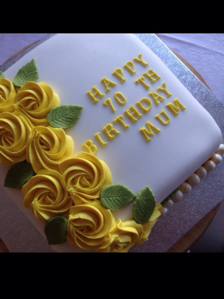 Cake decorating idea!
