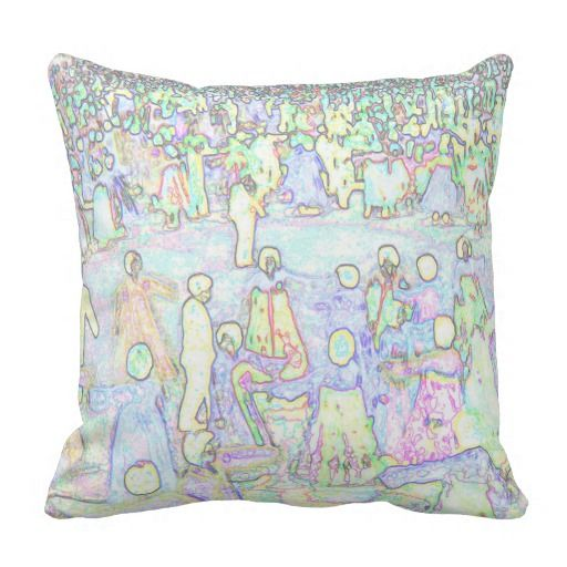 People dancing art Pillow