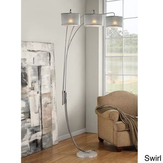 Brighten A Dark Corner With This Adjustable Arch Floor Lamp. It Features A  Chrome Finish That Will Add A Modern Touch To Your Home. Itu0027s Designed With  Three ...