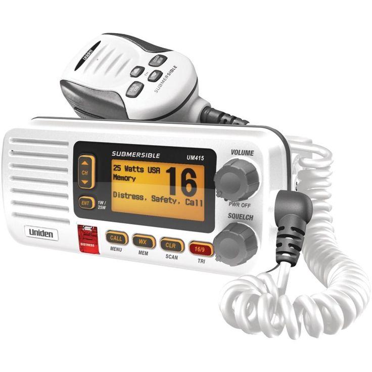 Uniden Oceanus D Marine Radio (white)