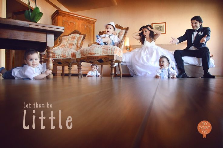 Let them be little! Wedding in Athens, Greece! #wedding #photography #children #quotes
