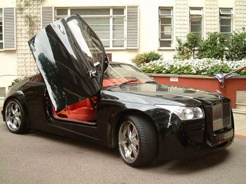 Rolls Royce Silver Spirit lll Coupe by DC Design